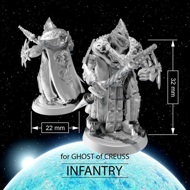 INFANTRY for Ghosts