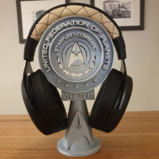 Star Trek Headphone Stand