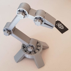 Simple Toy Robot Arm 5DoF