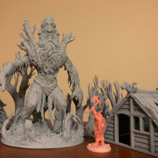 Picture of print of SET - Hill Giant Swiatowid the Worldseeker PRESUPPORTED