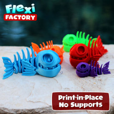 FLEXI PRINT-IN-PLACE FISH