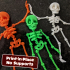 CUTE FLEXI PRINT-IN-PLACE SKELETON image