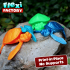 CUTE FLEXI PRINT-IN-PLACE TURTLE image