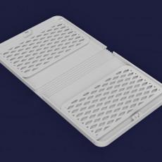 Foldable surgical mask case