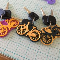 Bike Keychain - 2 Colors