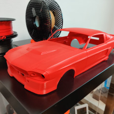 Picture of print of MyRCCar 1/10 GT500 1967 American Muscle On-Road RC car body