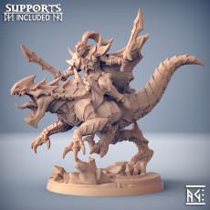 Khaladas on Morvagia the Drakeling - Ashen Alfar Inquisitors