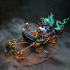 Soul-Harvester Altar & Modular Slaves - Ashen Alfar Inquisitors Terrain Piece image