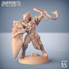 Ashen Alfar Inquisitor - Modular A (male)