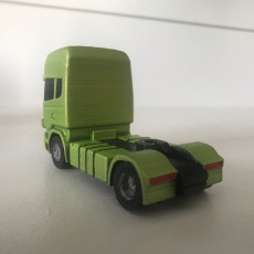 Picture of print of Scania 4x2   1/64 scale