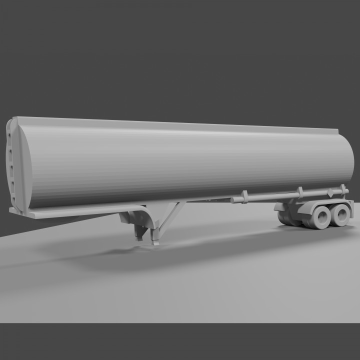 Tanker Semi Trailer 1/64 scale