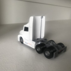 Picture of print of Volvo VNL 300  1/64 scale