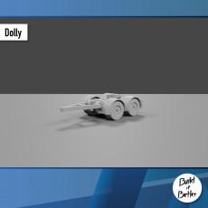 Semi Trailer Dolly 1/64 scale