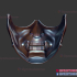 Ghost of Tsushima Mask - Oni Mask - Samurai Japanese image