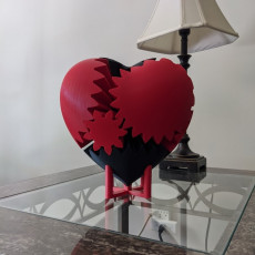 Heart Gears Table Mount