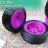 MyRCCar Buggy Wheels, 1/10 RC Car Rims and Tires for your 3D Printed Buggy image