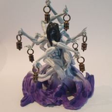 Picture of print of Lady of the Marsh Lights - Boss Monster - 32mm model