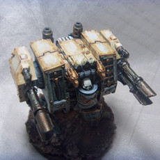 Picture of print of Holy Future War Soldier Mech Walker