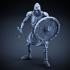 Skeleton - Heavy Infantry - Sword + Round Shield - Idle Pose image