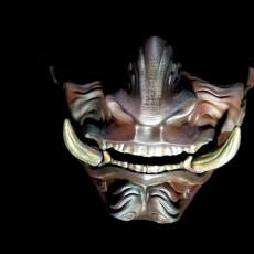 Picture of print of Samurai Mask Model 2