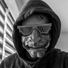 Samurai Mask Model 2