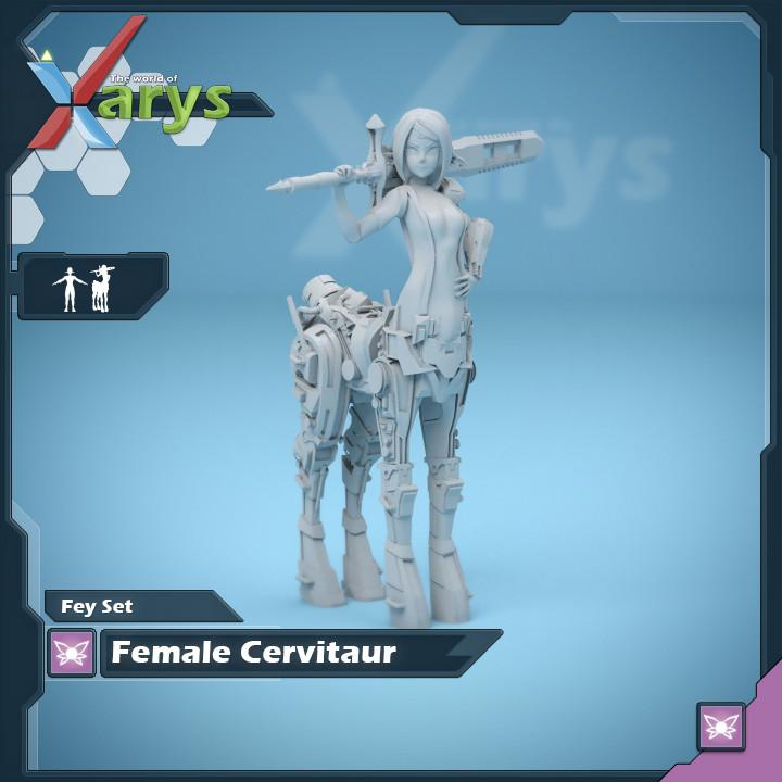 Female Cervitaur