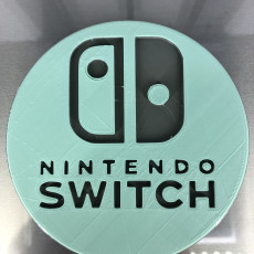 Nintendo Switch drinkcoaster (pair)