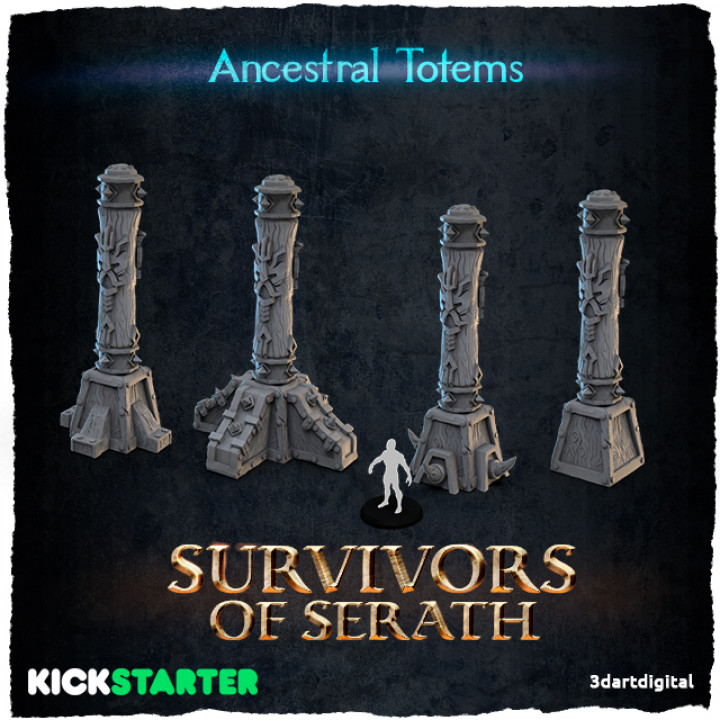 Ancestral Totems's Cover