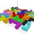 Cubic puzzle 24 piece 6 x 6 x 6 size image
