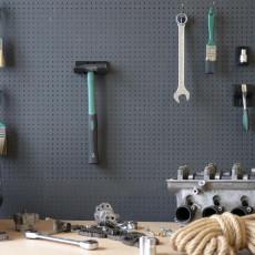 Large Engineers Hammer Holder 500g 029 I for screws or peg board
