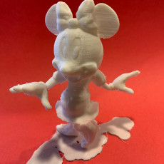 Minnie Mouse with supports