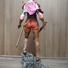 Picture of print of Casca from Berserk 25cm