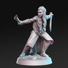 Aurielle - Female Ranger - 32mm - DnD