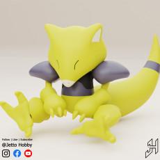 Abra (1/10 Scale Articulated Pokemon)