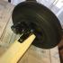 Support Go Pro Char a voile Ludic sur essieux image