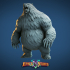 Grizzly Bear Miniature - pre-supported image
