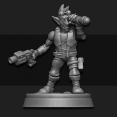 Female Junker Artillery Spotter