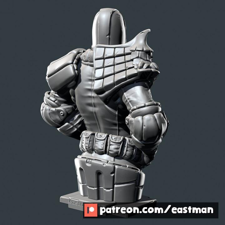 Judge Dredd bust (fan art)