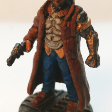 Picture of print of CYBERPUNK MALE DETECTIVE WAYNE