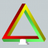 3d Infinity impossible triangle image