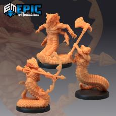 Serpend Guard Set / Serpentfolk / Snake