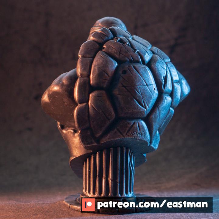 TMNT bust (fan art)