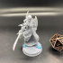 Siln Tanadu Moon Elf Cleric tabletop miniature 32mm Perfect for D&D, Pathfinder and Tabletop RPG's image