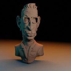 Jeff Goldblum Caricature