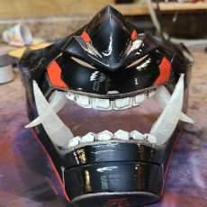 Picture of print of Oni Cyber Punk Mask