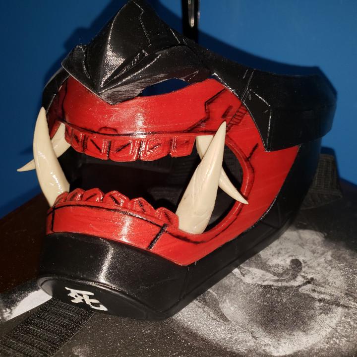 Oni Cyber Punk Mask