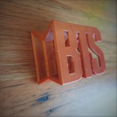 BTS 3d flip ornament