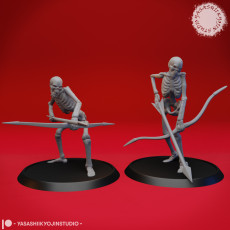 Undead Skeleton Archers - Tabletop Miniature
