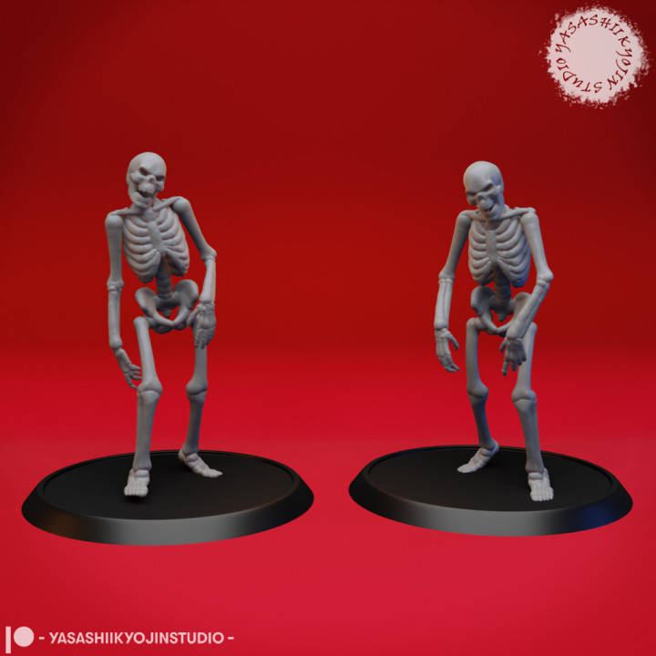 Undead Skeleton Walkers - Tabletop Miniature