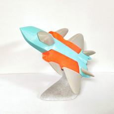 Fighter Jet Toy Puzzle - CN type